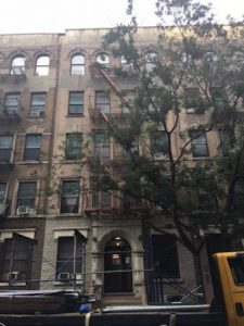 Photograph of 107 East 100th Street building.
