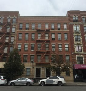 Photograph of 447-449 East 116th Street building.