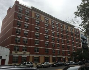 Photograph of 58 East 132nd Street building.