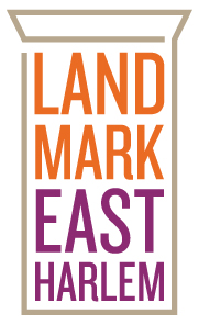 Landmark East Harlem logo.
